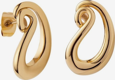 M&M GERMANY Ohrstecker 'Oval' in gold, Produktansicht