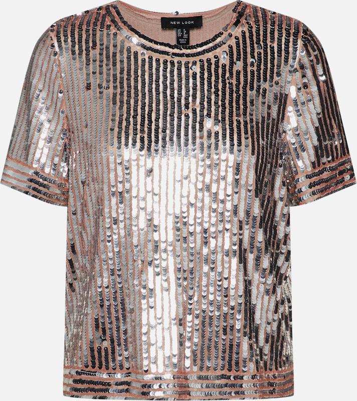 'nazzy' Argent En T Look shirt New Aj354RLq