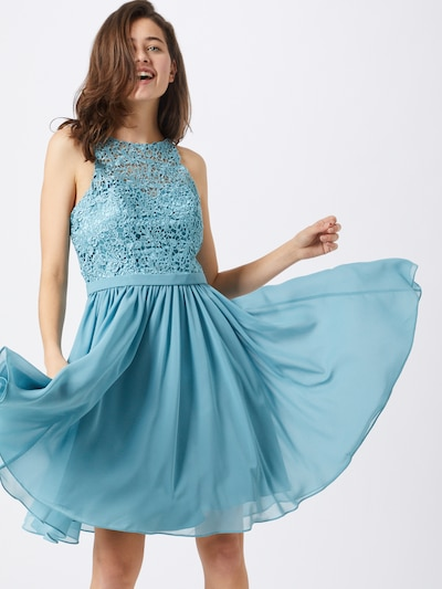 mascara Kleid 'LACE COVER' in blau, Modelansicht