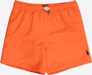 Shorts de bain 'TRAVELER SHO-SWIMWEAR-BOXER' Polo Ralph Lauren en orange