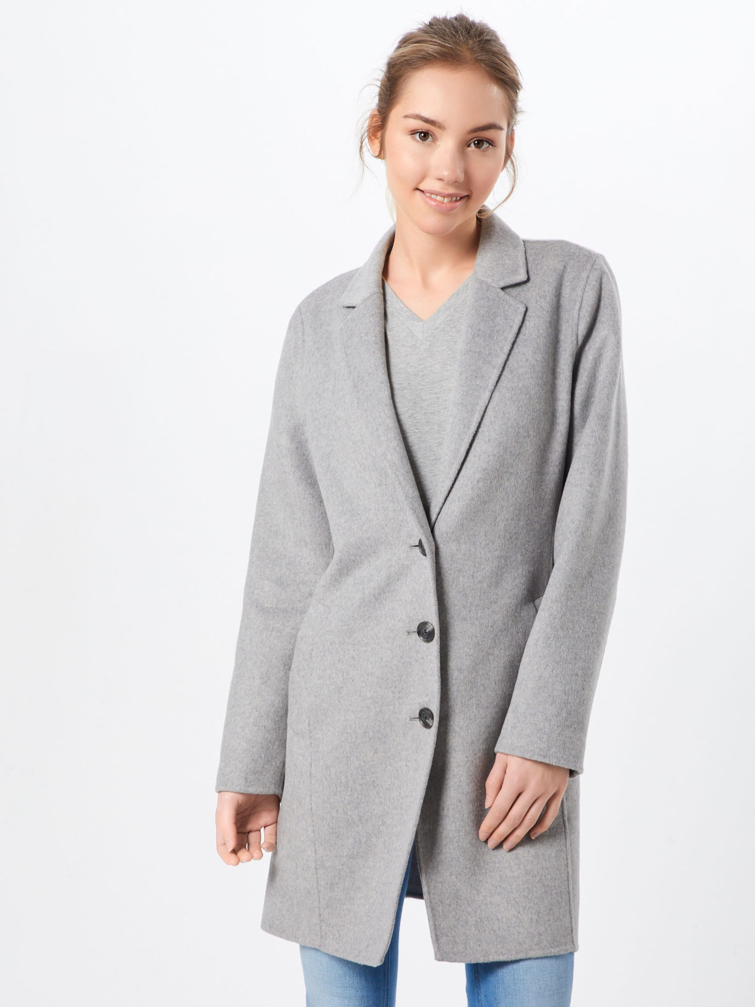 Republic Gris Top Chiné Banana saison 'double Manteau En Mi Coat' Face 5q3ARL4j