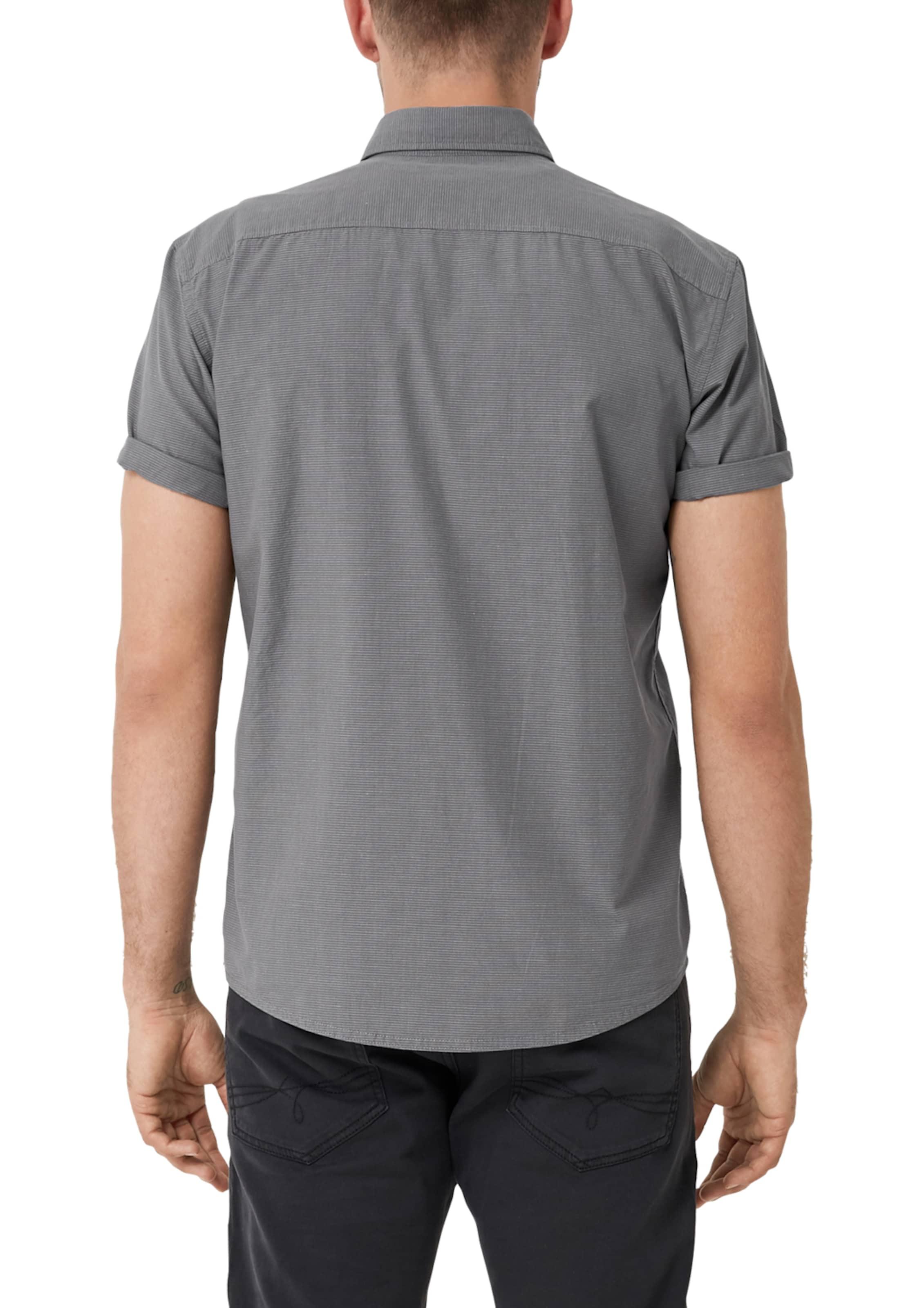 Hemd oliver DunkelgrauWeiß oliver S Hemd In S nOwPkX80