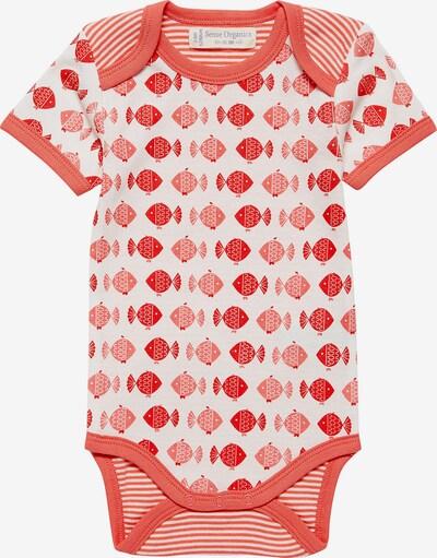 Sense Organics Body 'Yvon' in rot / hellrot / weiß, Produktansicht
