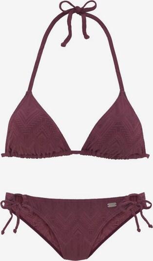 BUFFALO Bikini in weinrot, Produktansicht