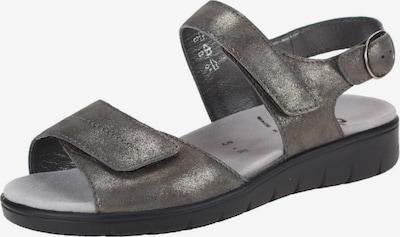 SEMLER Sandalen in dunkelbraun, Produktansicht