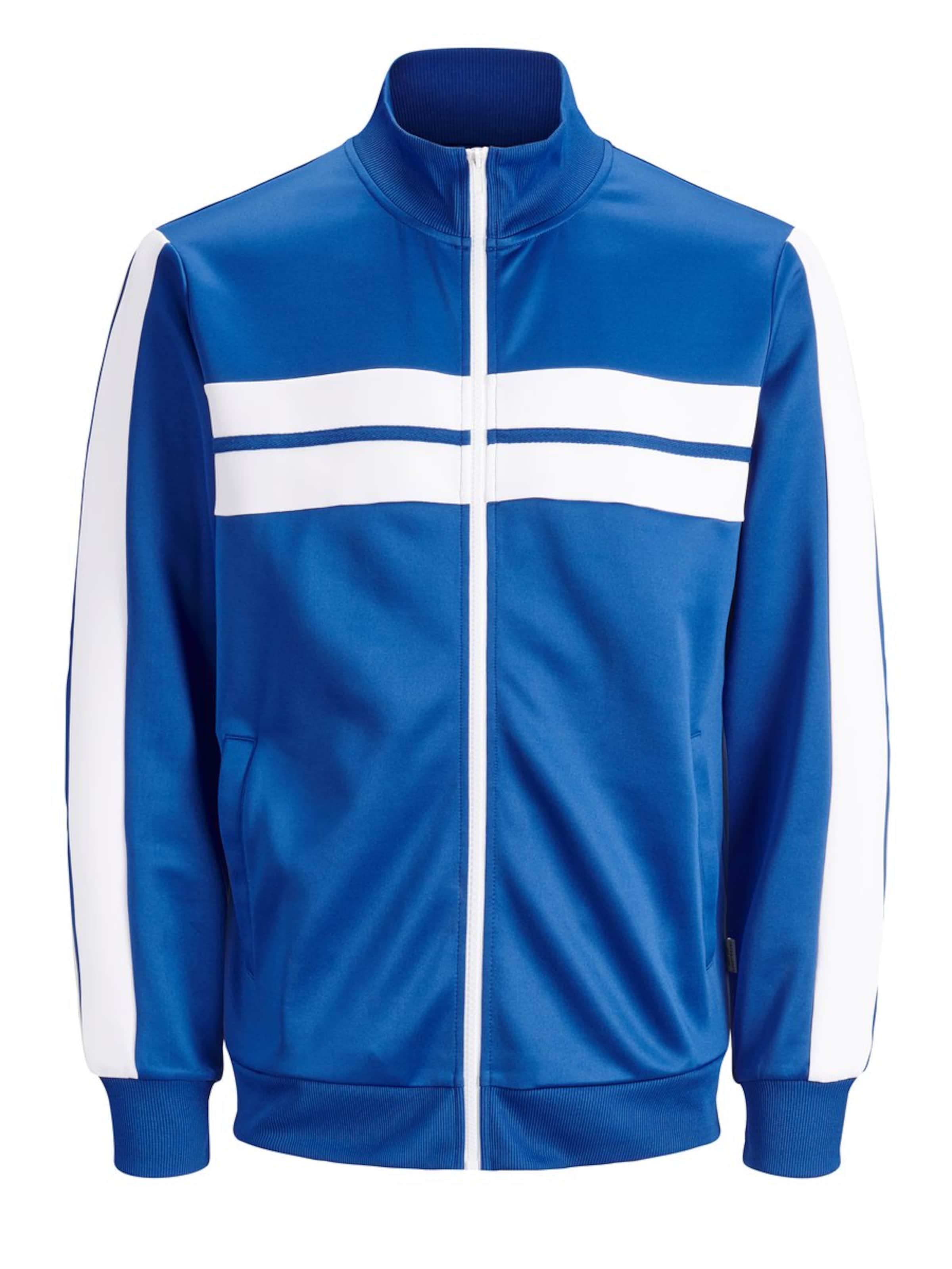 BlauWeiß Sweatshirt Retro Jones In Jackamp; yN8nv0OmPw
