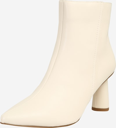 NA-KD Stiefelette in offwhite: Frontalansicht