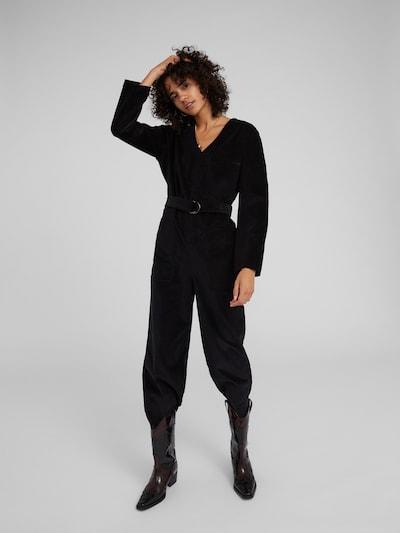 Kombinezono tipo kostiumas 'Gazi' iš EDITED , spalva - juoda: Vaizdas iš priekio