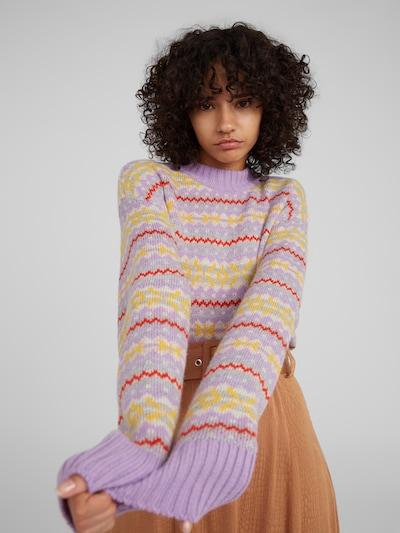 Megztinis 'Cailan' iš EDITED , spalva - purpurinė: Vaizdas iš priekio