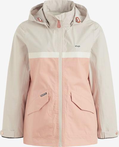 khujo Jacke ' KATAYUN ' in beige / rosa, Produktansicht
