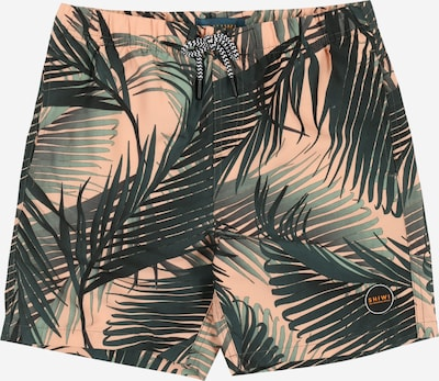 Shiwi Plavky 'boys swimshort foliage' - broskyňová: Pohľad spredu