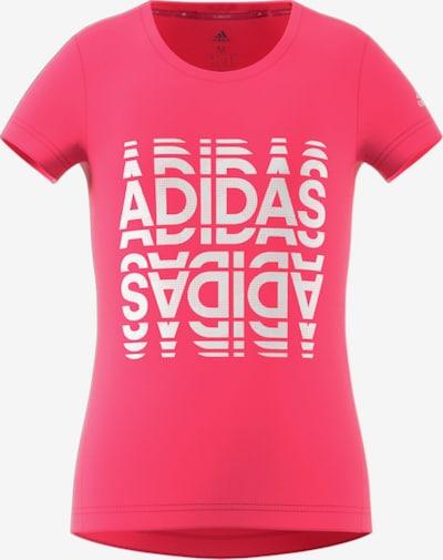 ADIDAS PERFORMANCE Shirt in pink / weiß, Produktansicht
