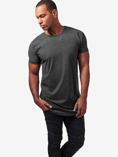 Urban Classics Shirt in graphit: Frontalansicht