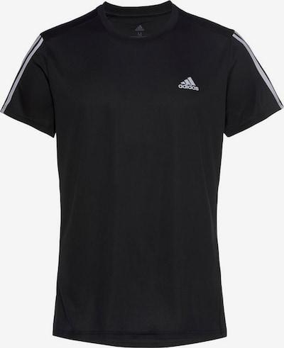 ADIDAS PERFORMANCE Ikdienas krekls 'Running 3-Streifen' pieejami melns / balts, Preces skats