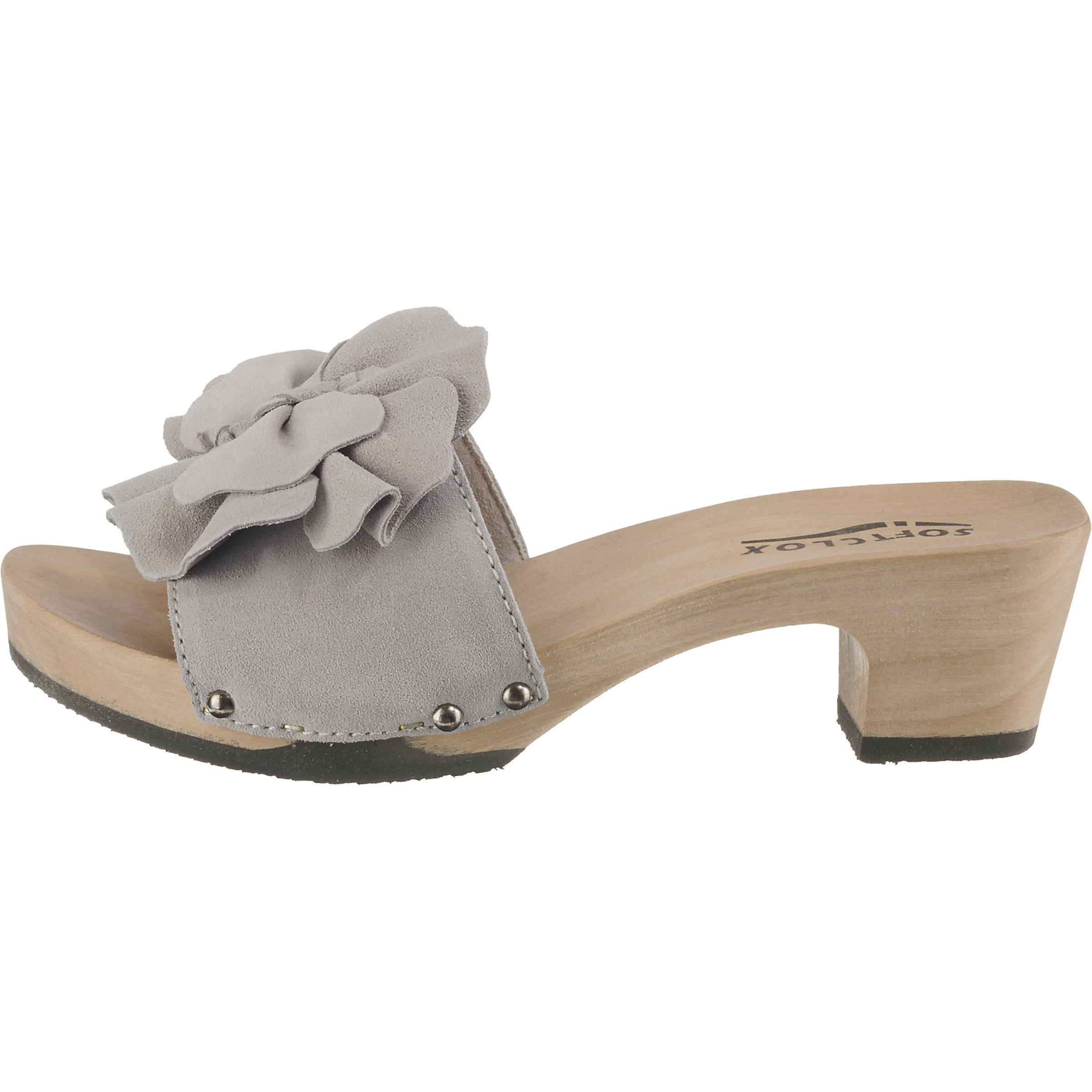 Softclox 'kassandra' Softclox Pantolette In Grau Yfg76byv