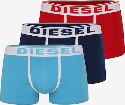 DIESEL Trunks  'Damien' in blau / rot / naturweiß, Produktansicht