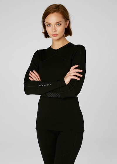 HELLY HANSEN Funktionsshirt 'Hh Lifa' in schwarz: Frontalansicht