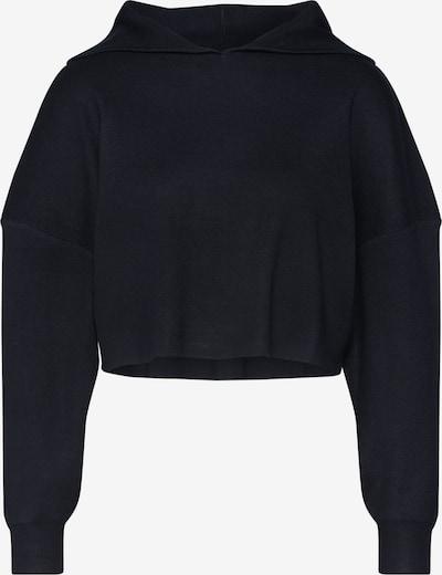 Pulover 'Ribbed Hooded Crop Jumper' Missguided pe negru, Vizualizare produs