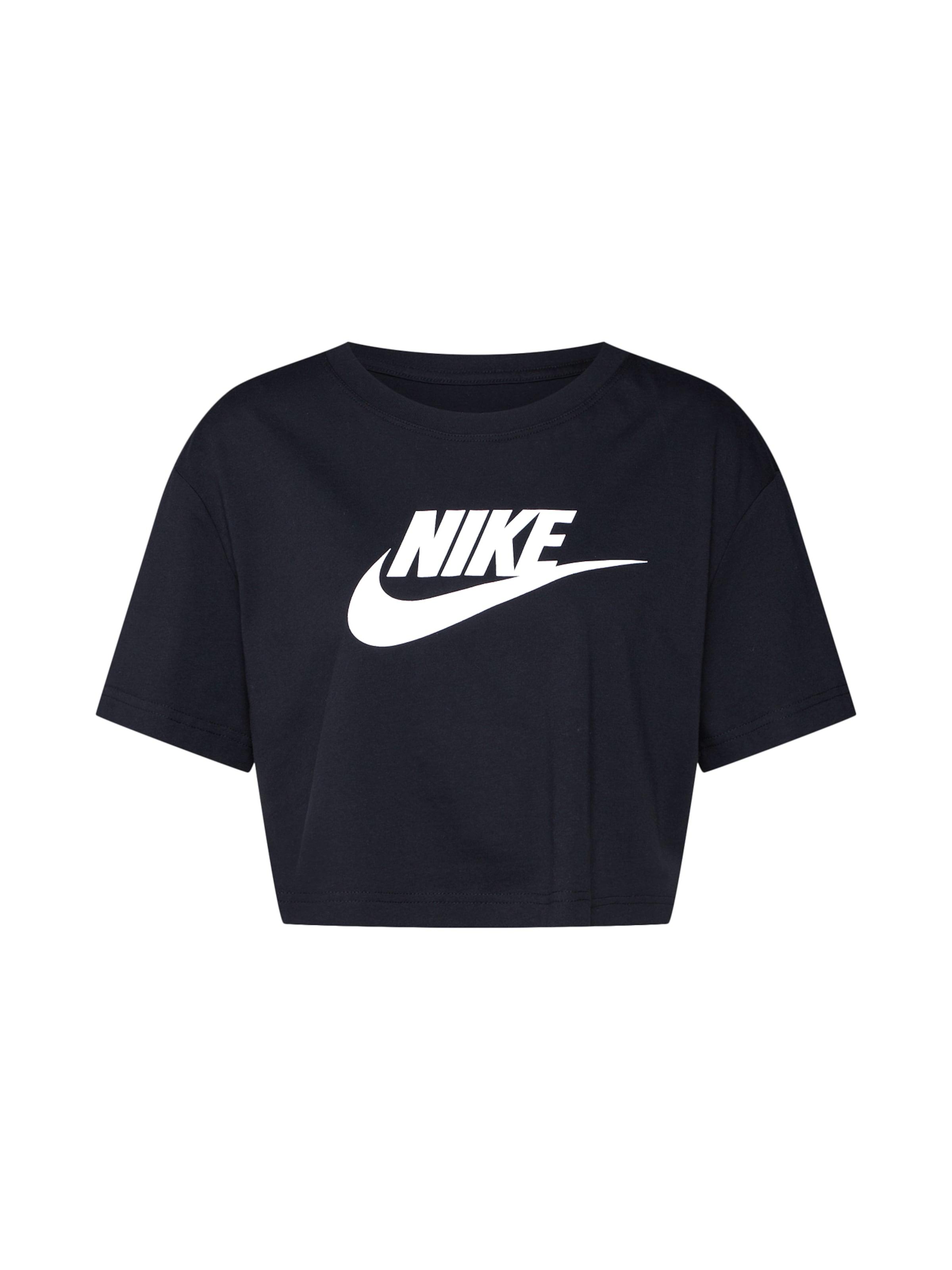 Nike T shirt Sportswear En NoirBlanc W9DYHI2E