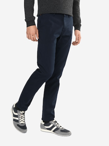 BOSS Casual Chinohose in Schwarz