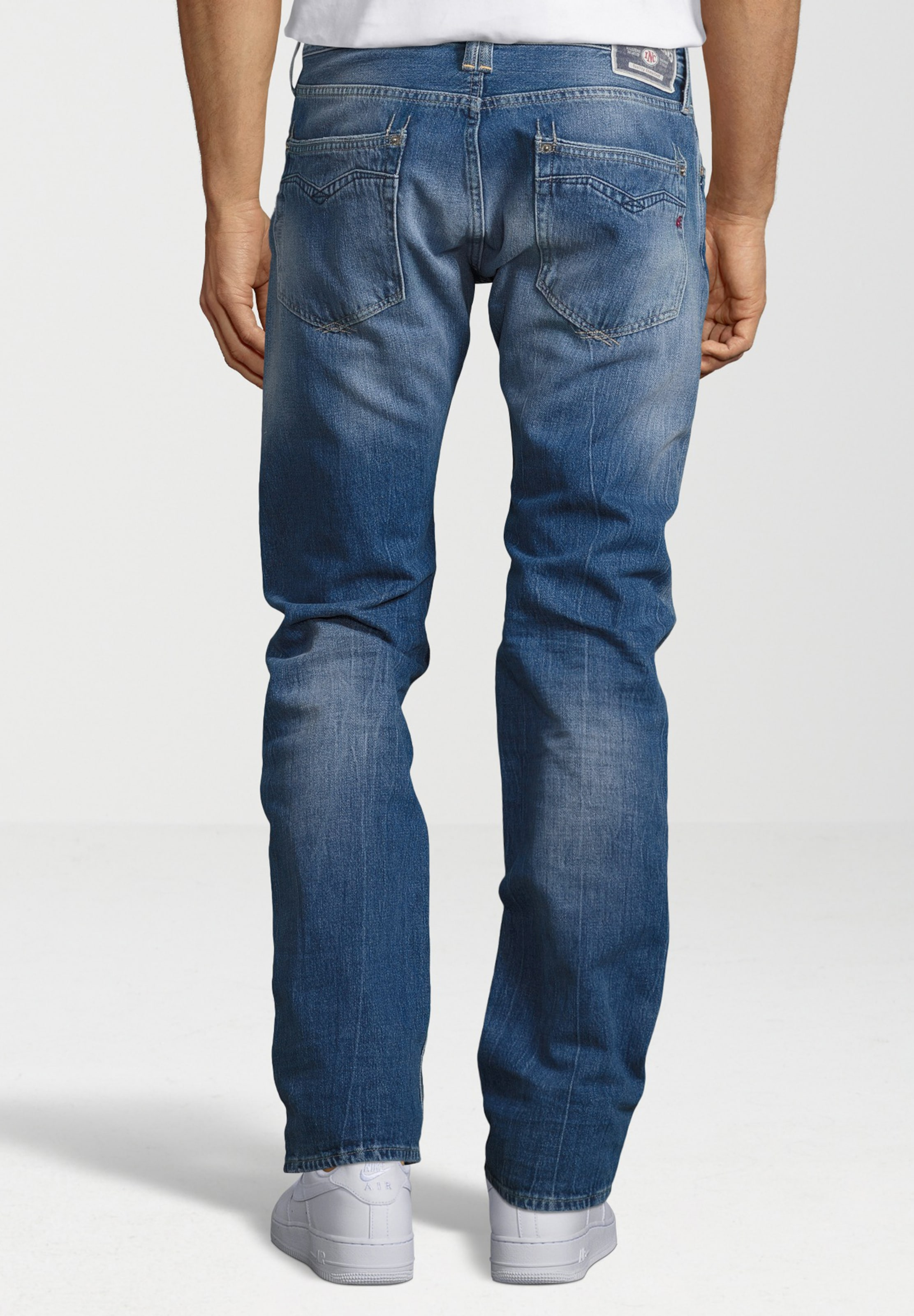 Blau Cotton In Denim' Replay Jeans 'newbill sdhQtr