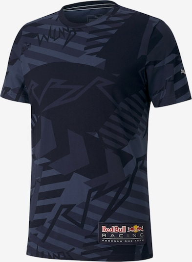 PUMA T-Shirt in dunkelblau / dunkelgrau, Produktansicht