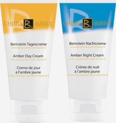 CHIARA AMBRA 'Bernstein Tagescreme' Anti-Aging in blau / gelb / weiß, Produktansicht