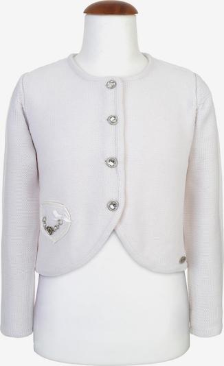 SPIETH & WENSKY Strickjacke 'Ribisel' in weiß, Produktansicht