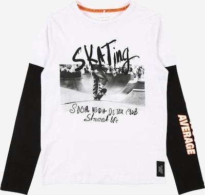 NAME IT Shirt in schwarz / weiß, Produktansicht