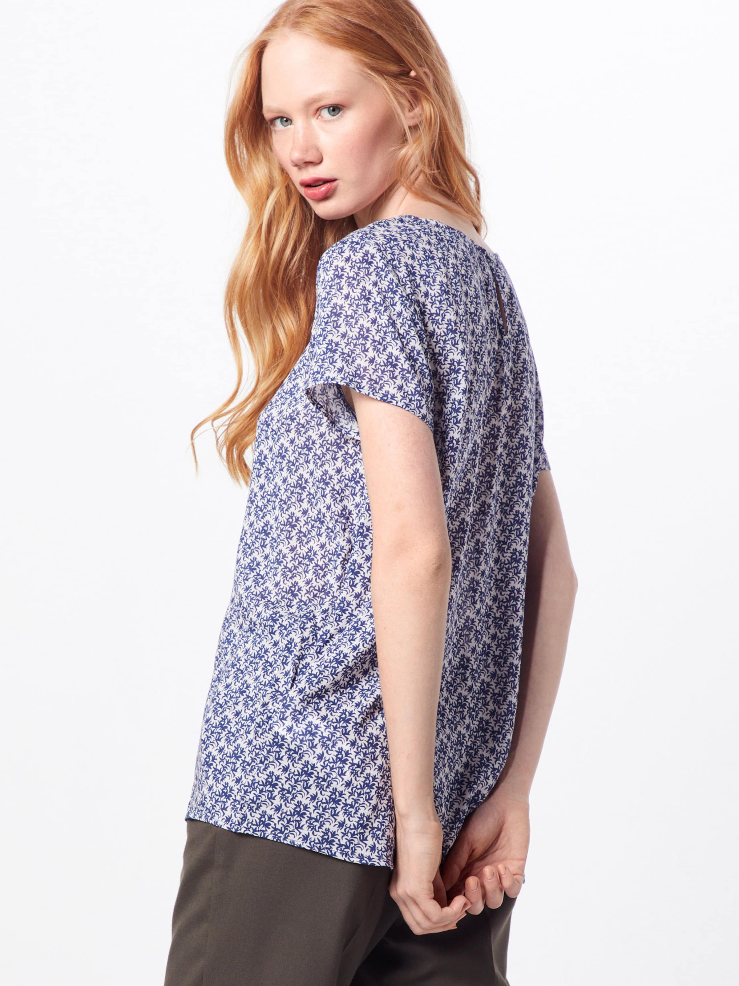 Bluse Esprit Navy By Edc 'lightviscosevoi' In xCBdoe