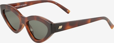 LE SPECS Sonnenbrille 'SYNTHCAT' in braun, Produktansicht