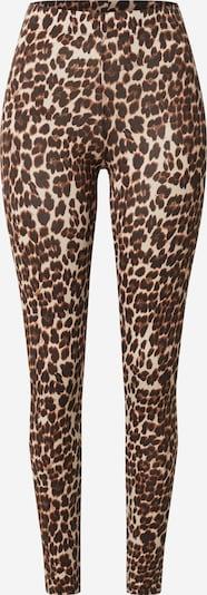 ONLY Leggings 'ONLBELLA' en marron, Vue avec produit