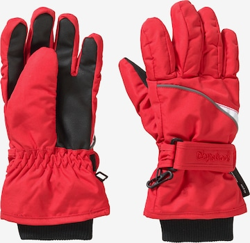 PLAYSHOES Handschuhe in Rot