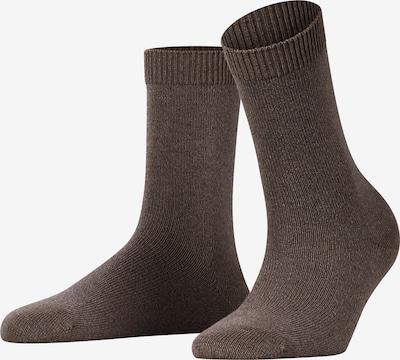 FALKE Socken 'Cosy Wool' in braun, Produktansicht