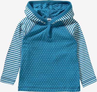 Leela COTTON Shirt in himmelblau / weiß, Produktansicht