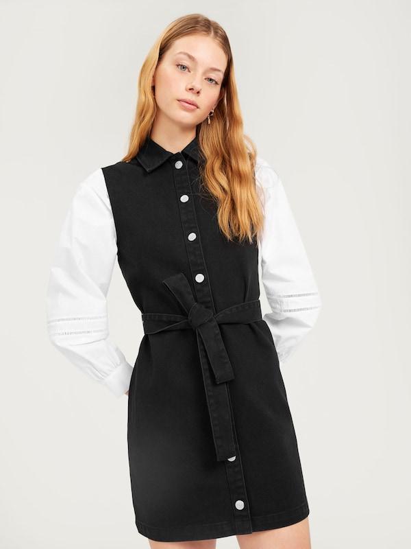 'diya' Robe chemise Edited Noir En UpSVzM