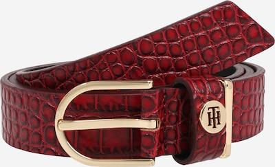 TOMMY HILFIGER Riem in de kleur Rood / Zwart, Productweergave