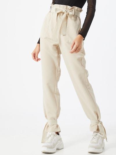 VERO MODA Hose 'VMKAISA HW TIE PANTS VMA' in beige, Modelansicht