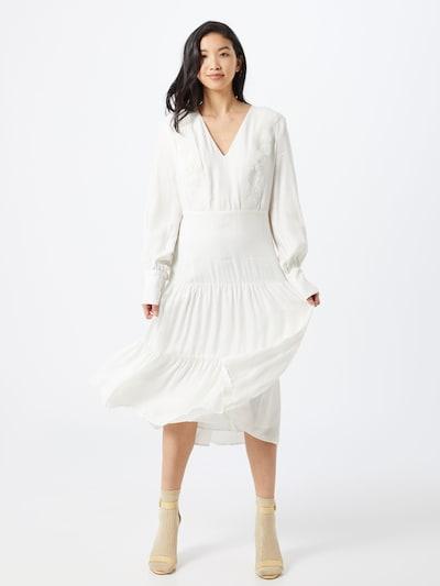IVY & OAK Kleid 'LACE MIX DRESS MIDI' in mischfarben / schwarz / weiß, Modelansicht