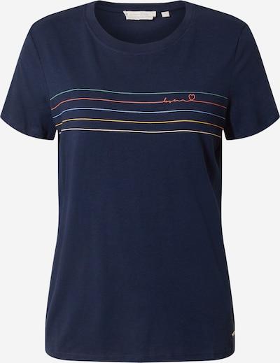 TOM TAILOR DENIM T-Shirt in dunkelblau, Produktansicht