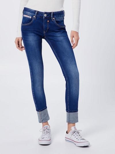 Herrlicher Jeans 'Touch Slim' in de kleur Blauw denim: Vooraanzicht