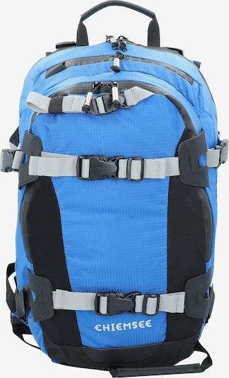 CHIEMSEE Rucksack in blau / grau / schwarz, Produktansicht