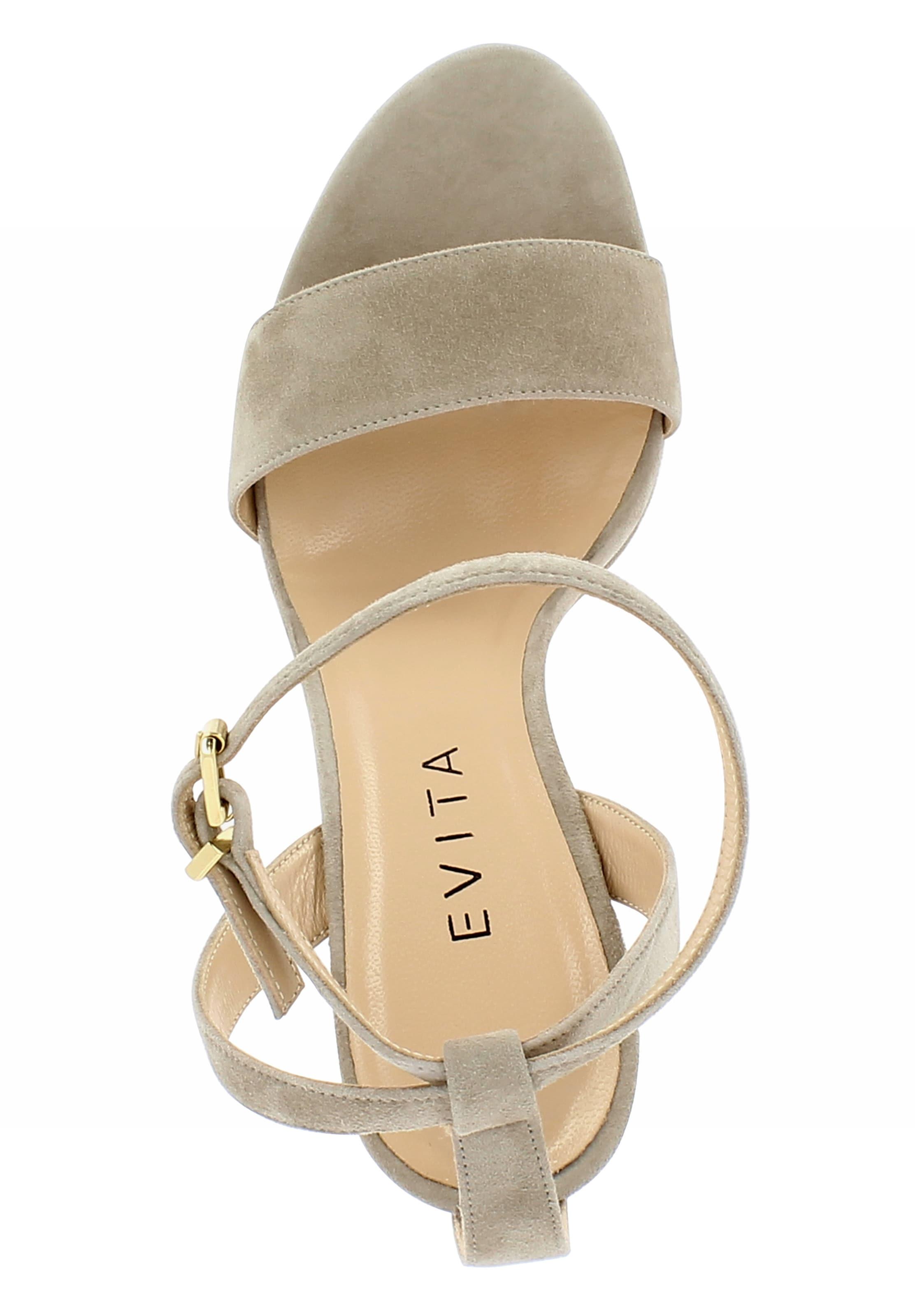 Sandalette In 'valeria' In Evita Evita Sandalette 'valeria' 'valeria' Sandalette In Beige Evita Beige 80NwOnPyvm