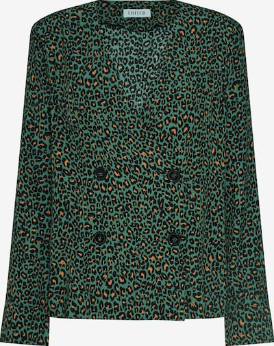 EDITED Bluse 'Brittany' in grün: Frontalansicht