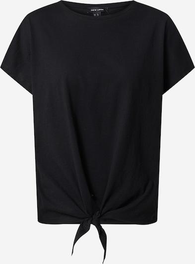 fekete NEW LOOK Póló 'Tie Front', Termék nézet