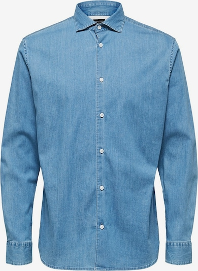 SELECTED HOMME Jeanshemd in blue denim, Produktansicht