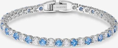 Swarovski Armband in blau / silber / transparent, Produktansicht