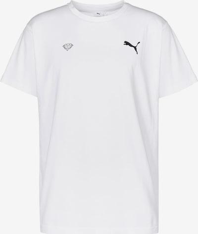 PUMA T-Shirt 'x Diamond Logo' in weiß, Produktansicht