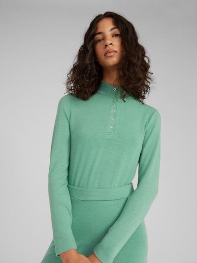 EDITED Majica 'Jaidan' | zelena barva, Prikaz modela