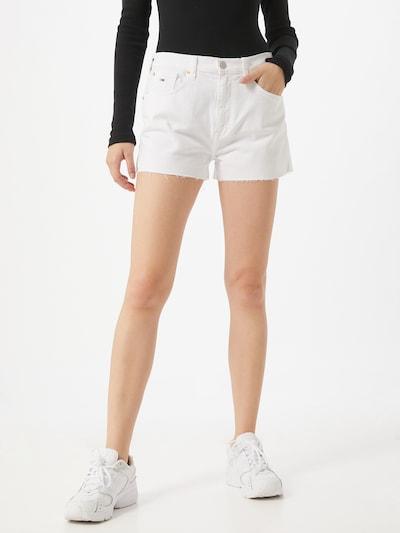 Džinsai iš Tommy Jeans , spalva - balta, Modelio vaizdas